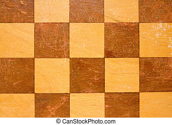 wooden checkers board table