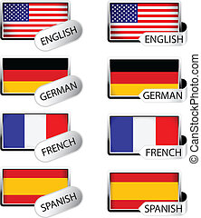 Vector language pointer - flags