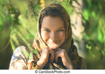 Russian Peasant Woman - beautiful russian peasant girl in...