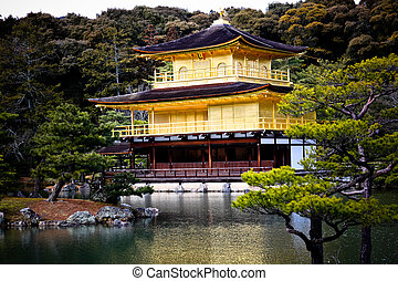 Golden Temple Kyoto World Heritage