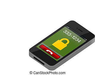 Touch Mobile Phone Vector