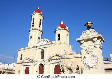 Cuba - Cienfuegos - Cuba - colonial town architecture...
