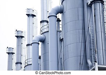 Gas processing plants in Hong Kong