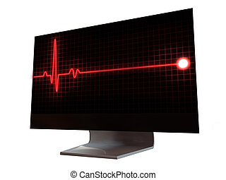 pulse sign on monitor
