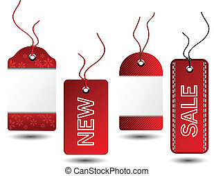 Vector sale Christmas tags
