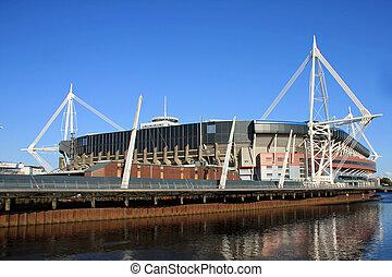 Millennium Stadium, Cardiff, WAL UK - The Millennium...