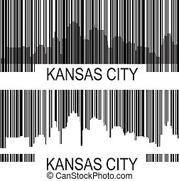 Kansas City barcode - City of Kansas City high rise...