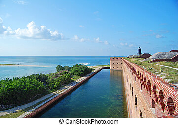 fort jefferson fortifications