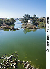 Cordoba Watermill - An old watermill on the river in Cordoba...