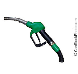 gas station petroleum handle nozzle