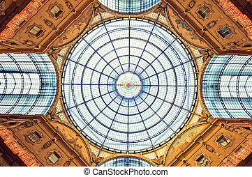 The Galleria Vittorio Emanuele II.
