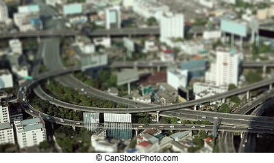 "miniature city - ""miniature city buildings look like a toy""..."