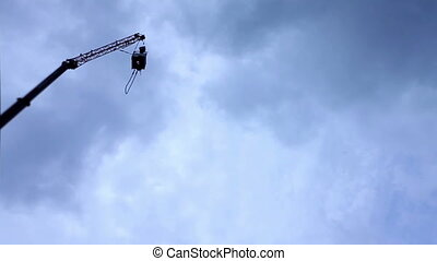 bungee jumping from very high
