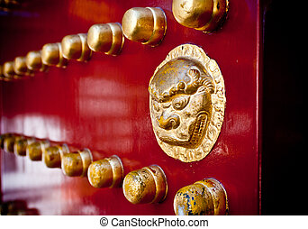 A Palatial Entrance - A grand entrance to the Forbidden City...