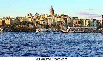 istanbul galata - view of istanbul galata