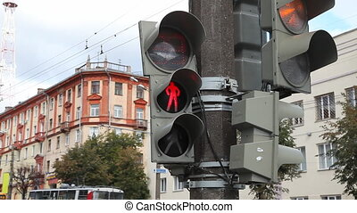 Traffic light - Izhevsk, Russia
