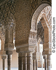 Alhambra columns and arches