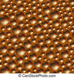 Aerated porous milk chocolate. Seamless background. Vector illustration.
