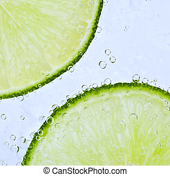 Bubbly lime