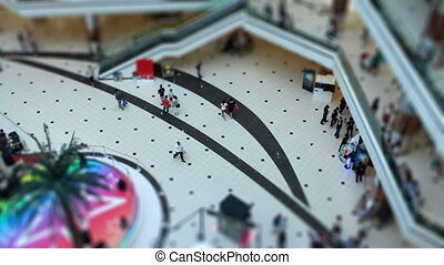 miniature shopping center - miniature shopping center people...