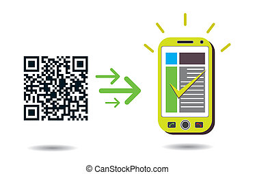 QR Code processing in cellphone - QR Code processing:...