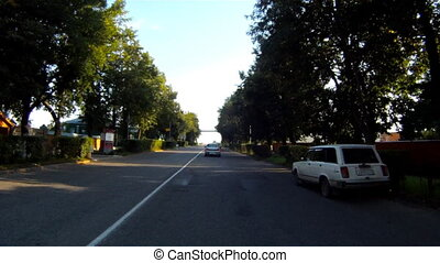 Exit from Suzdal city by car - Suzdal , Russia