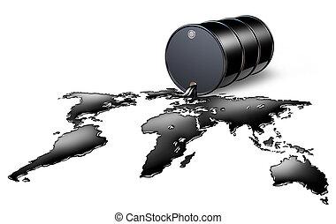 óleo, indústria