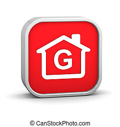 Building Energy Efficiency G Classification - House Sign...