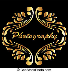 Vintage gold style photography
