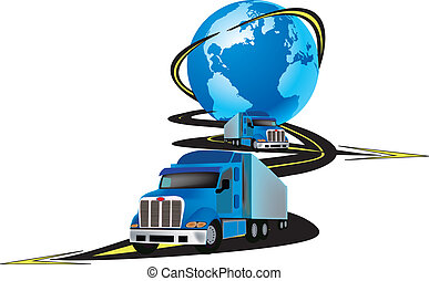 logo - international trucking