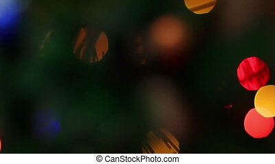 New Years bokeh
