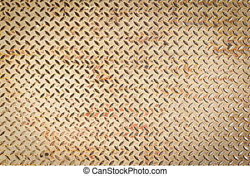 diamond steel plate texture for background