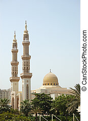 Muslim mosque, Sharjah, United Arab Emirates