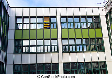 school building - the building of a school photograph from...