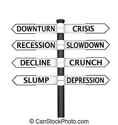 Crisis signpost - Eight pointers related to economic crisis...