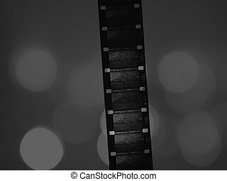 Film - 16mm film strip with diffused backlights