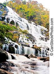 """""""Mae Ya"""" waterfall in Chiang Mai - """"Mae Ya"""" tropical..."""
