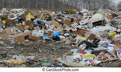 dump - trash dump blowing by the wind 1080%u04451920 HD...