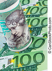 danish crowns. denmark's currency