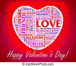 St. Valentine's Day collage