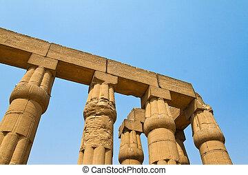 egypt, luxor amun temple of luxor.