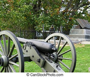 cannons at gettysburg