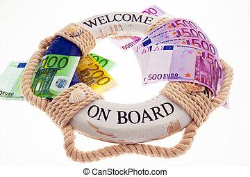 €,  lifebuoy, grecia, salvación