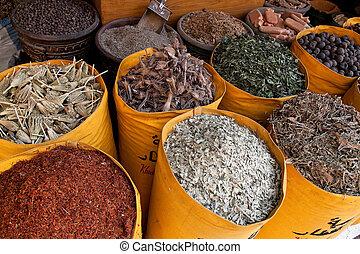 egypt, cairo, khan el-khalili bazaar - africa, egypt, cairo,...