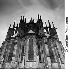 Prague. St. Vitus Cathedral - Prague. View of St. Vitus...