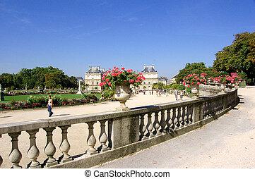Green park, Paris France