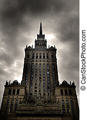 Palace of Culture and Science. Warsaw, Poland