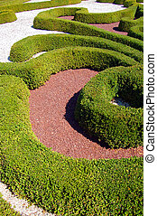 Garden design - Well-preserved beautiful garden