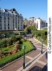Green city centre, Paris France