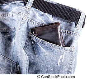Wallet - Ready to go?Jeans and a Wallet.